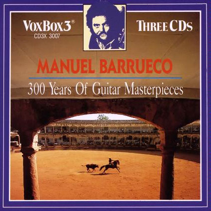 Manuel Barrueco: 300 years of guitar masterpieces