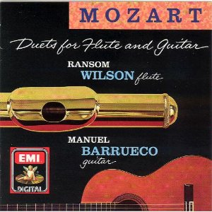 Mozart: Duets for flute and guitar