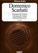 4 Sonatas for Guitar