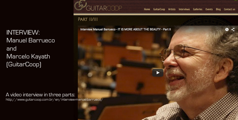 Barrueco Kayath GuitarCoop Video Interview