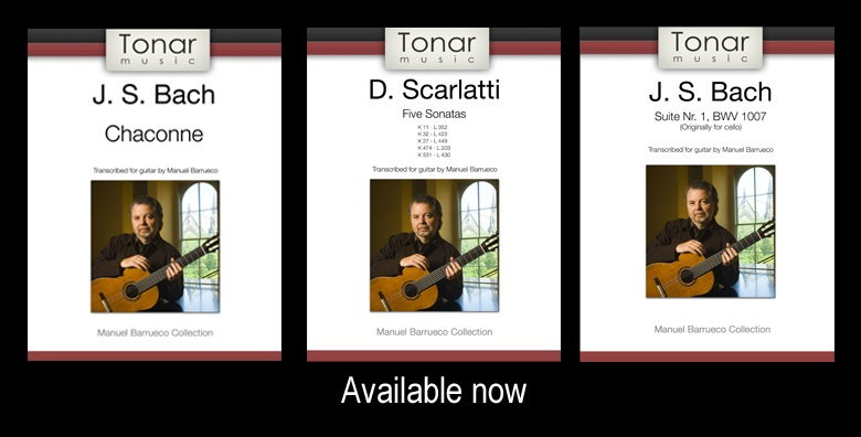 Barrueco Tonar Transcriptions Available